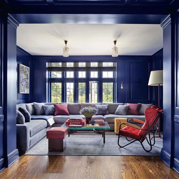 Blue: Interior Design Trends