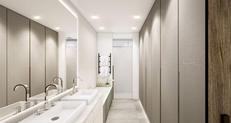 New Johannesburg Developments: Hyde Park Bathroom