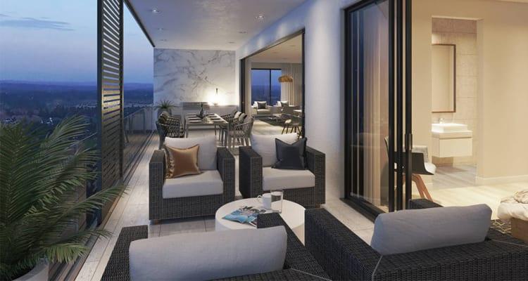 Sandton Apartments: Balcony