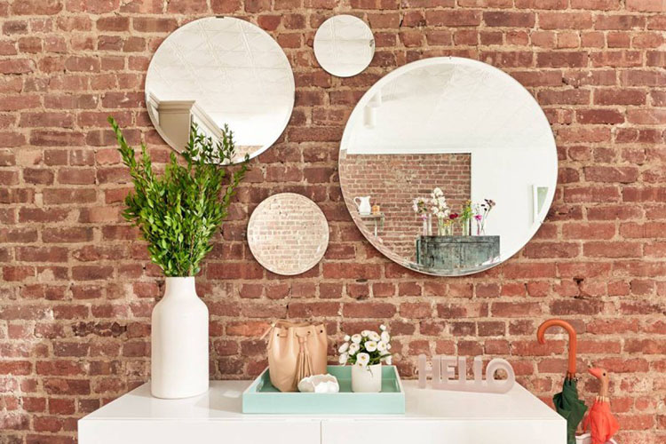 Mirror: Wall Painting Ideas