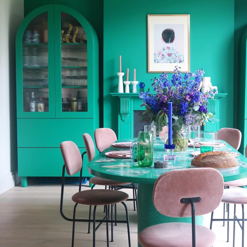 Wall Painting Ideas: Dining Room